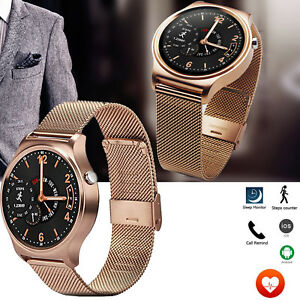 Image Is Loading Fashion Bluetooth Smart Watch Heart Rate Monitor For