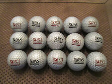 LOGO GOLF BALL-(15) PCI/PAS SILVER GOLF BALLS...2 LOGOS ON 1 BALL
