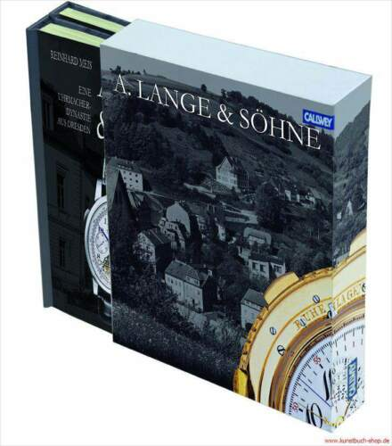 1 von 1 - Fachbuch A. Lange &  Söhne - Firmenchronik und Dokumentation, 2 Bände im Schuber