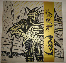 Inepsy / Toxic Holocaust (split) White vinyl EP - Ltd. Edition / New/ Punk Metal