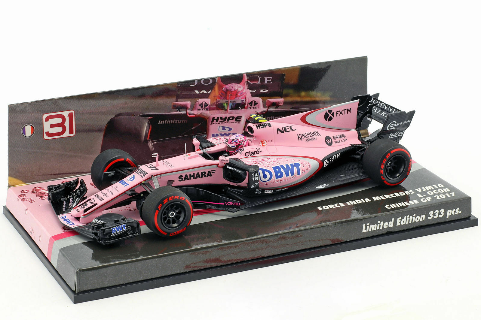 Minichamps Ocon Force India 2017 in 1 43 New and OVP