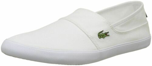 Lacoste Marice BL 2 Blanc Toile Homme Mules Chaussures