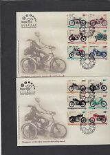 Hungary 2009 Motorcycles First Day Cover FDC Budapest pictorial h/s