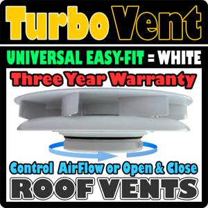 Van-Caravanas-Camper-Autocaravana-Techo-Top-Rotativa-De-Aire-Ford-blanco-de-ventilacion-de-viento