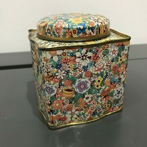 Vintage-Danher-Floral-Printed-Canister
