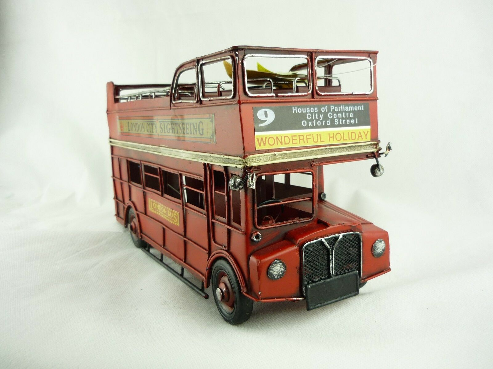 Blechmodell Bus  London , ca. 32x13x17 cm 905502