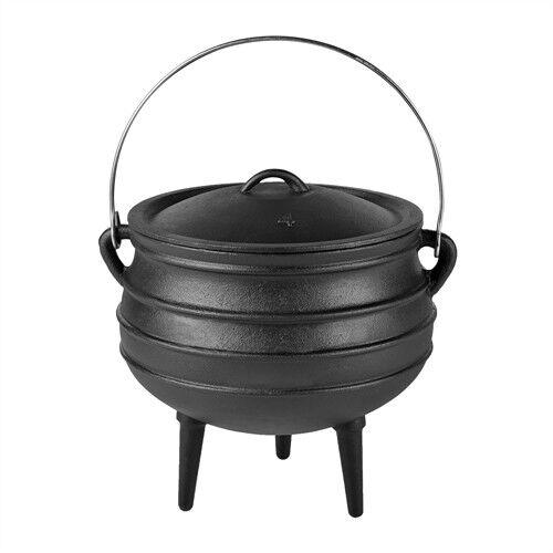 Dutch Oven Oven Oven GHISA potjie fuoco Pentola schmortopf fuoco CALDAIA scaraventassero BBQ  57ace1