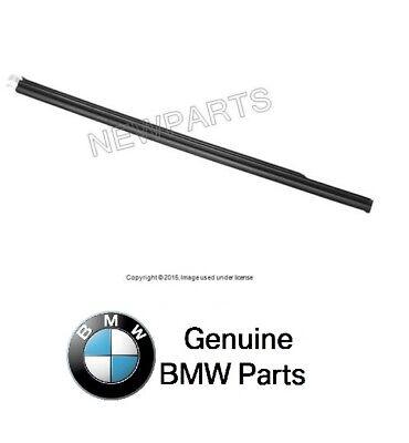 BMW 323Ci 328Ci 325Ci 330Ci Weatherstrip Railing - Quarter Window Chrome