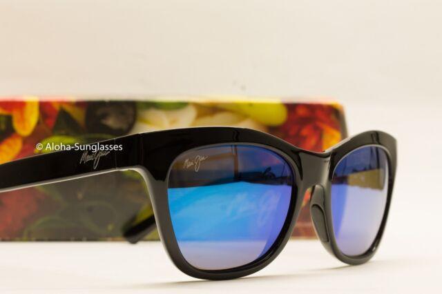 5a0096937c1d NEW womens Maui Jim Sunglasses Sweet Leilani Black Blue Hawaii Polarized  womens