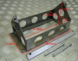 Lightweight Battery Box OEBT4 Alloy Battery Tray Varley Red Top 40