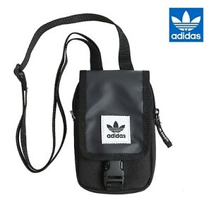 bd2e6895a Adidas Originals Map Bags Messenger Black Sports Bag Cross GYM Sack ...