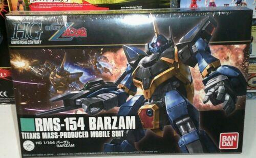 2017 Bandai HG UC MSZ-006 Z Gundam RMS-154 Barzam 1//144 model 204 brand new