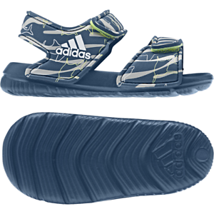 bb697a1c21df5 Image is loading Adidas-Boys-Lifestyle-AltaSwim-Pool-Sandals-Beach-Strap-