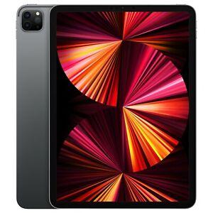 """Apple iPad Pro 11"""" (2021) 128GB, WiFi, 27,94 cm - Space Grau MHQR3FD/A"""