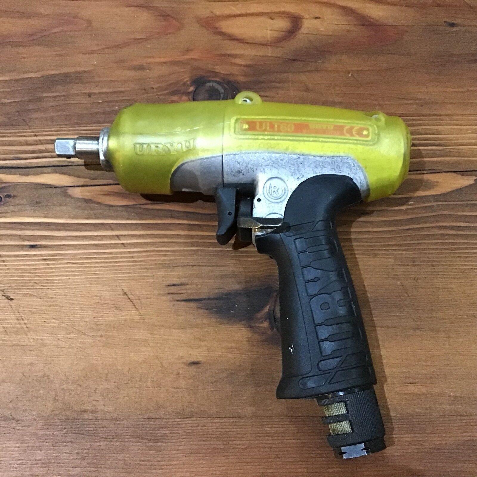 "URYU, ULT 60, 3 8""Drive Pulse Tool, Pneumatic   Air Tool, Nutrunner , Japan"