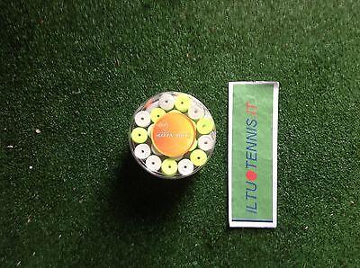 1 Confezione Da 60 Overgrip Colorazione Mista Dunlop