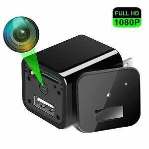 FULL-HD-Versteckte-Kamera-Universal-Aufladeadapter-SpyCam-Video-Ton-Uberwachung