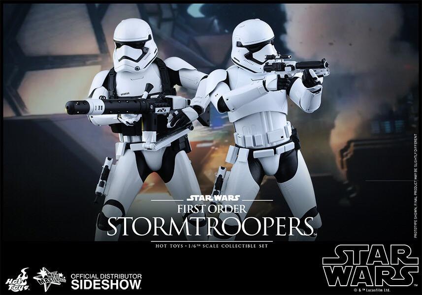 Caliente giocattoli  estrella guerras primo ordine Stormtrooper Confezione da 2 cifra DELUXE 1 6TH  vendita calda online