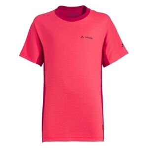 Selbstlos Vaude Fulmar Shirt Kinder T-shirt Pink Von Der Konsumierenden öFfentlichkeit Hoch Gelobt Und GeschäTzt Zu Werden