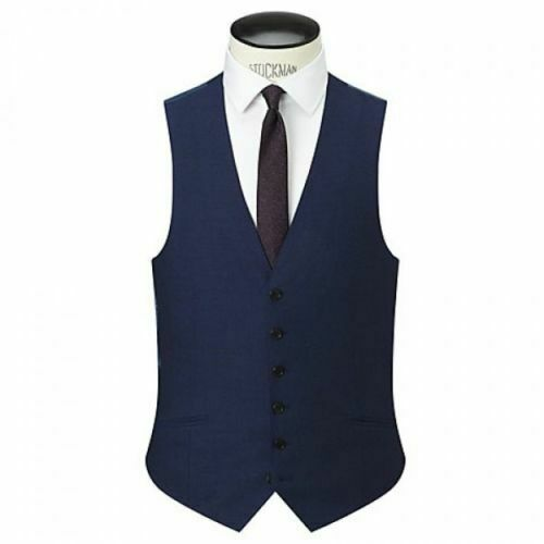 Contemp gilet taglia picco James Mayfair blu 38r Richard navy flanella wvfaxq