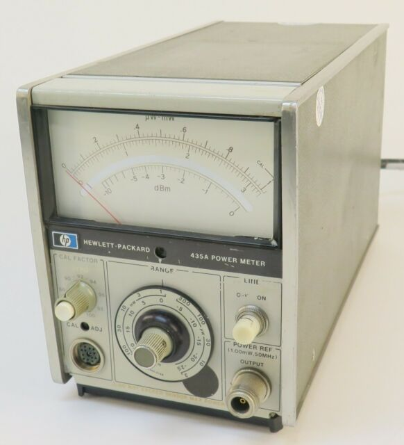 HP Agilent 435A Power Meter Hewlett Packard Free Shipping