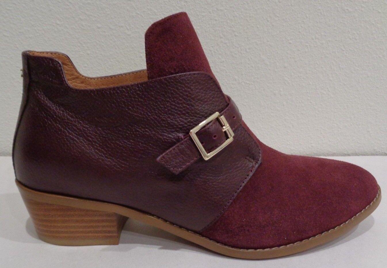 Yosi Samra Talla Talla Talla 8 Delancey Gamuza Cuero Puerto Leonado botas al Tobillo Zapatos para mujer Nuevo  punto de venta