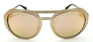 705288c3226 Versace METAL MESH VE 2175 Rose Gold Dark Grey 1395 4x Sunglasses 60 ...