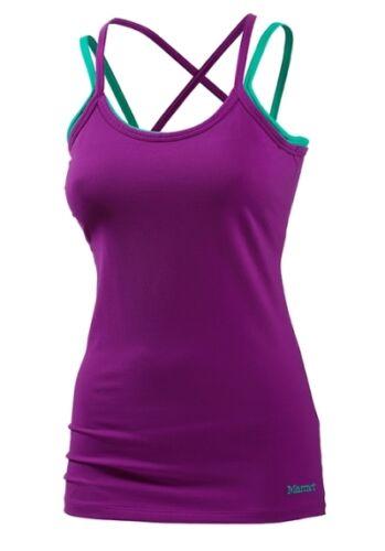 Marmot Erin GR. M // L // XL Damen Tank Top Shirt lila Outdoor NEU /& OVP