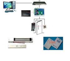 Single Door Security System Access Control PROXCARDⅡ Reader Mag Lock Power Box