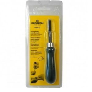 Bergeon-6484-G-Two-Lever-Left-Handed-Watch-Case-Back-Opening-Tool-HK6484-G