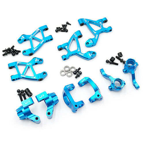 bluee Aluminum Essential Conversion Kit  (Suspension upgrade) for Tamiya M07 YR