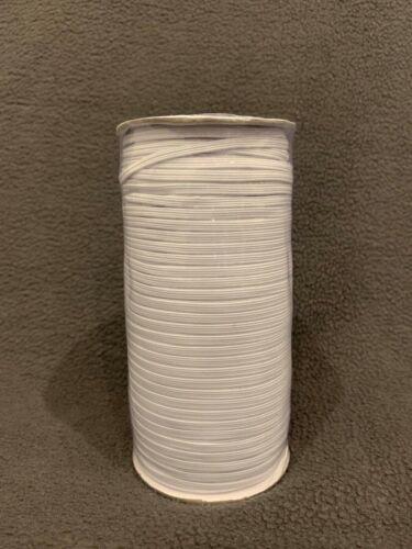 3mm 164m elastisches Gummiband auf Rolle Flachgummi Gummilitze Gummikordel