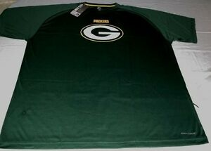 70b9d454 Details about Green Bay Packers Synthetic Cool Base Performance Shirt 2XL  Green Majestic NFL
