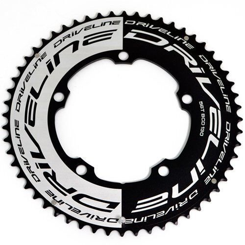 Fast Shipping Driveline AL7075 Road Bike Bicycle TT Chainring 56T, BCD 130mm