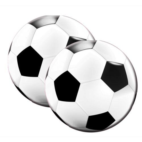 20 stk. Por folatos 26202-cumpleaños /& fiesta-Fútbol servilletas 33 cm