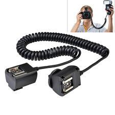 Godox TL-C 3M E-TTL Flash Cable Cable de sincronización fuera de cámara Zapata para Cámara Canon