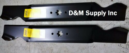 "Set of 2 MTD Cub Cadet 42/"" mower blades 742-0616 742-0656 942-0616 942-0656 1031"