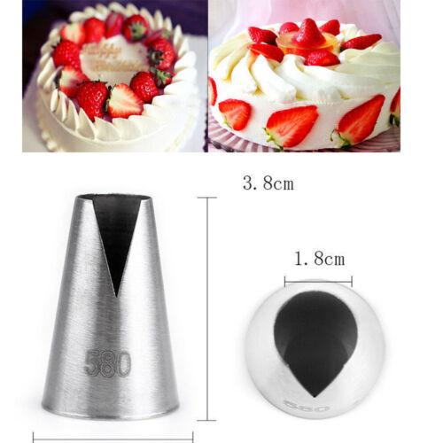 Russian Cake Icing Piping Nozzles Tips Converter Mould Sugarcraft Tool Kit Set