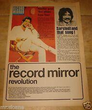 RECORD MIRROR 1 NOV 1969 TOM JONES SARSTEDT BEATLES MAMA CASS DAVID BOWIE TULL