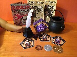 NEW Lot 5 CUSTOM Set For Fan Harry Potter /& American Girl Daily Prophet Quibbler