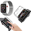 CINTURINO-COVER-VETRO-TEMPERATO-9H-per-Apple-Watch-5-4-3-2-44-42-40-38-mm miniatura 17