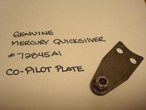 GENUINE QUICKSILVER PARTS CO-PILOT PLATE PART# 72845A1