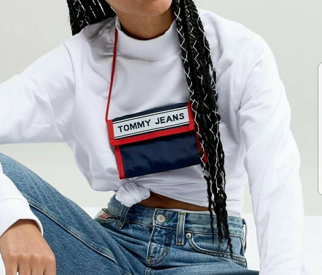 Genuine Tommy Hilfiger jeans Logo Cross Body Purse