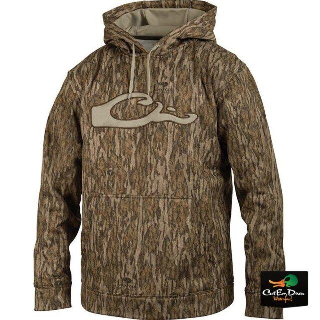 584b97d1314e2 Drake Waterfowl Performance Hoodie Hooded Sweatshirt Bottomland Camo ...