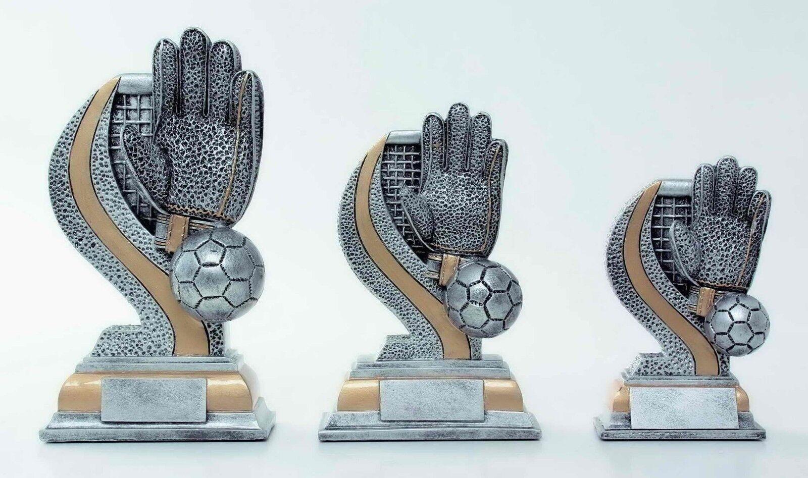 Figuras de fútbol portero 2x3er serie  174 (trofeo trofeos grabado torneo trofeos)