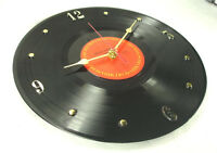 Recycled Bruce Springsteen Record the River (1980) - Vinyl Wall Clock