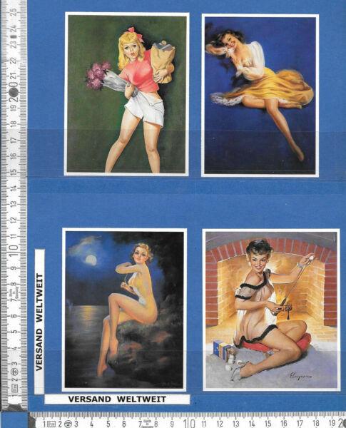 4 Pin-up-bilder * * Erotik / Akt – Vintage * 57-60