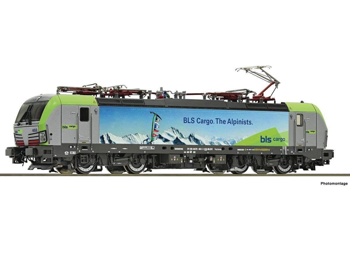 Roco 73928 gasóleo re 475 BLS cargo Digital Sound h0
