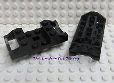 2x 287876 287826 4207399 Brick 2878 LEGO NEW Black Train Wheel Holder