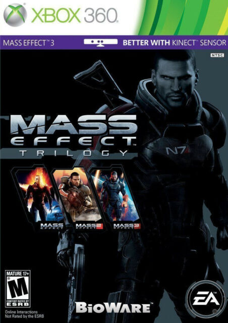 Mass Effect Trilogy Xbox 360 Xbox One Brand New In Stock From Brisbane